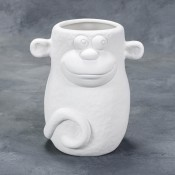 Quirky Monkey bisque