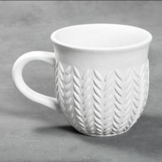 Mayco MB-1562 Stitched Mug Bisque