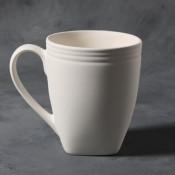 Contemporary Mug stoneware bisque