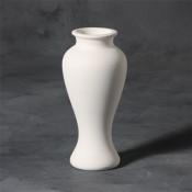 "8"" Vase stoneware bisque"