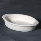 Augratin Dish stoneware bisque