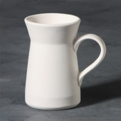 Flared Mug stoneware bisque