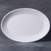 """16"""" Oval Platter stoneware bisque"""