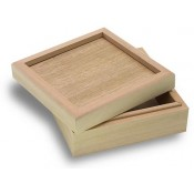 "Wood Box for 4.25"" tile"
