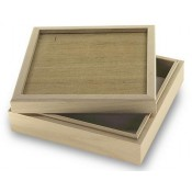 "Wood Box for 6"" tile"