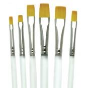 Gold Taklon Shader Aqualon Brush Set