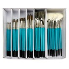 Ceramic Combo Natural 72 pc. Brush Set