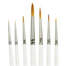 Golden Taklon Detail Brush Set (7 pc.)