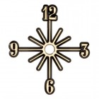 Sunburst Clock Face - 6""