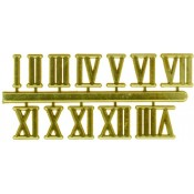 12-Digit Roman Clock Numerals