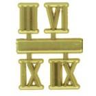 4-Digit Roman Clock Numerals