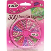 Tulip Multi-Color Glass Iron-On Crystals (300 ct.)