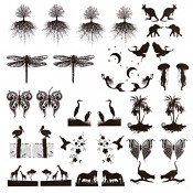 African Glass Decals