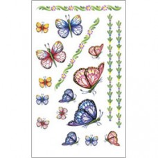 E-Z Rub-On Transfers - Butterflies