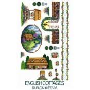 E-Z Rub-On Transfers - English Cottages