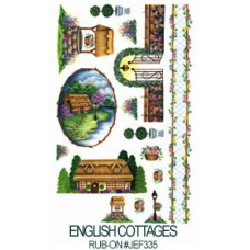 E-Z Rub-On Transfers - English Cottages