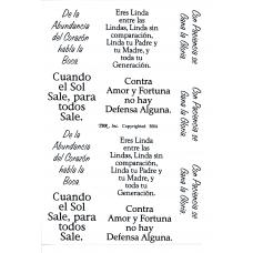 TBR 3004 Spanish Graphics - Love & Inspiration #3