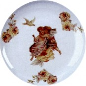 Virma decal 1926 - Cherubs on a Rose.