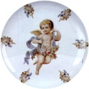 Virma decal 1936 - Cherub in Baby Blue