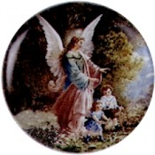 Virma decal 1946 - Angel with Children
