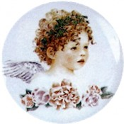 Virma decal 1964 - Child Angel Face