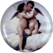 Virma decal 1972 - Cherub Kiss, whole bodies
