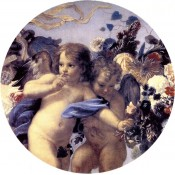 Virma decals 2020 - Cherubs with flowers