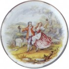 Virma decal 2100-A - Victorian Couple (7 inch)