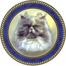 """Cat Decal, Select Breed - 7.5"""" dia."""