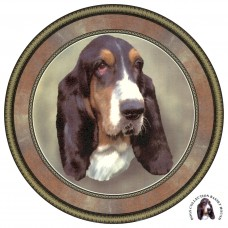 """Dog Decal, Select Breed - 6"""" dia."""