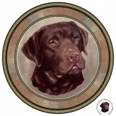 "Dog Decal, Select Breed - 3"" dia."