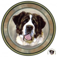 "Dog Decal, Select Breed - 7.5"" dia."