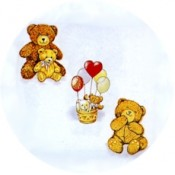 Virma decal 1372 - Teddy Bears