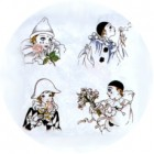 Virma decal 1500 - Mardi Gras Clowns/Mimes
