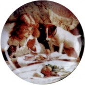 Virma decal 1988 - Praying Girl before Tea Party