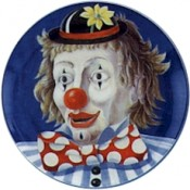 Virma decal 2218 - Clowns (7.75 inch)