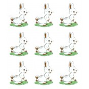 Virma decal 0286 - Cute Rabbit / Easter Bunny