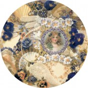 Virma decal 2042-D - Victorian Girl Cover all