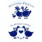 Virma decal 1408 - Welcome ducks