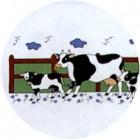 Virma decal 1434 - Cow and calves mug wrap