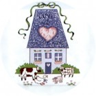 Virma decal 1472 -Love is the Heart of the Home Country