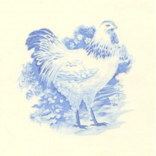 Virma 1740 Size D Chickens Decal