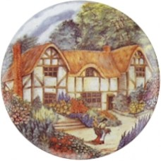 Virma 2206 Country cottages I set (3 inch) Decal