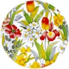 Virma decal 1590- Flowers Cover all, Orange, Yellow, Purple.