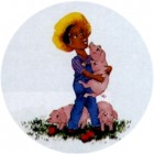 Virma decal 1710 - Southern Farmer and pigs