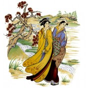 Virma decal 2384 - Women in Kimonos 1