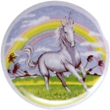 Virma 1350 Unicorn and Rainbow Decal