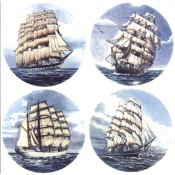 Virma decal 2210 - Clipper Ship Set (6 inch)
