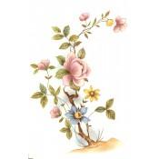 Virma decal 1004-Flowers on a Bush