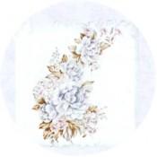 Virma decal 1048-Blue/Pink Flowers
